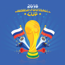 2018 World Cup Vector images