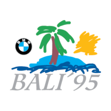 Bali 95 Logo Vector Free Download images