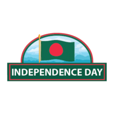Bangladesh Independence Day Logo Vector images