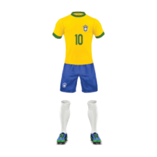 Brazil Football Team Jersey Vector images