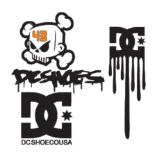 DC Shoes logo vector free download images