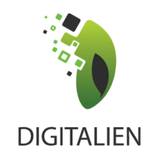 Digital Alien Logo images