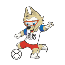 Fifa World Cup 2018 Vector Mascot images