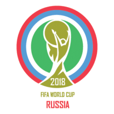 Fifa World Cup Russia 2018 Logo Vector images