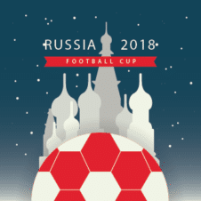 Fifa World Cup Russia 2018 Vector images