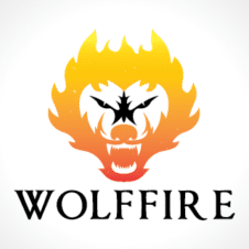 Fire Wolf Logo images