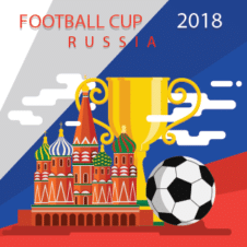 Football World Cup 2018 Vector images
