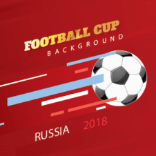 Football World Cup 2018 Vector Background images