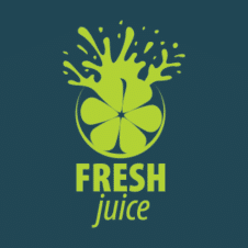 Fresh Juice Logos images