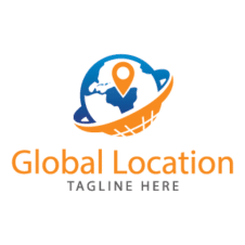 Global Location Logo images