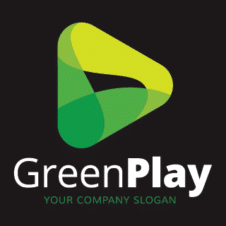 Green Play Logo images