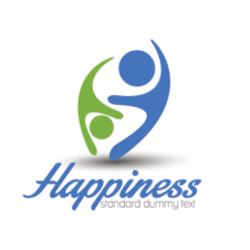 Happiness Logo Design images
