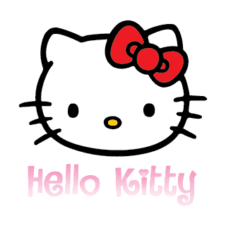Hello Kitty Logo Vector free images