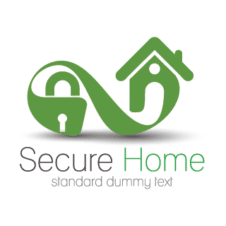 Home Security Logo Vector images