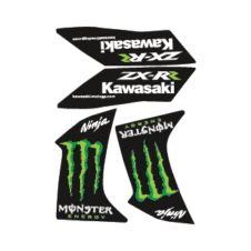 Kawasaki Ninja Monster Logo Vector Download images
