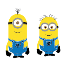 Minions characters vector download free images
