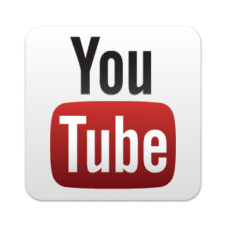 New YouTube button vector free download images