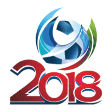 Russia World Cup 2018 Logo EPS images
