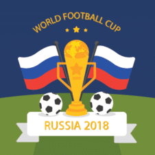 Russia World Cup 2018 Logo Vector Free images