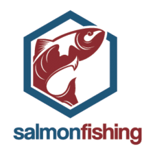 Salmon Fishing Logo images