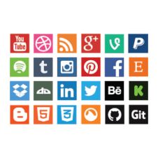 Social Media Icons images