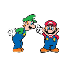 Super Mario Bros Logo Vector download images