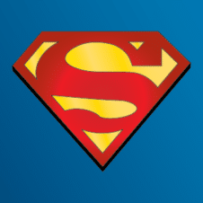 Superman logo vector free download images