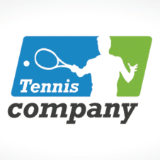 Tennis Sports Logo images