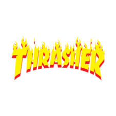 Thrasher fogo Logo Vector Free Download images