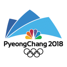 Winter Olympics 2018 Logo Vector images