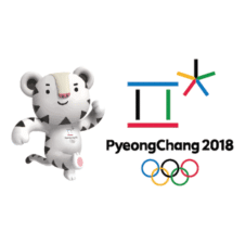Winter Olympics 2018 Vector Logo images