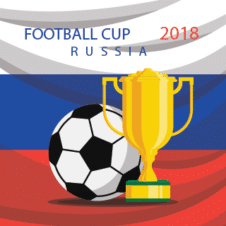 World Cup 2018 Background Vector images