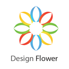 Abstract Flowers Vector Logo images