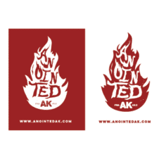 Anointed AK Beard Co. Vector Logo images