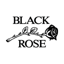 Black Rose Leather Vector Logo images