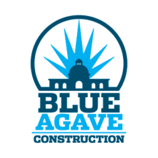 Blue Agave Construction Vector Logo images