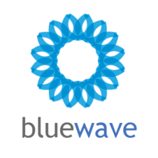 Blue Wave Logo Vector images