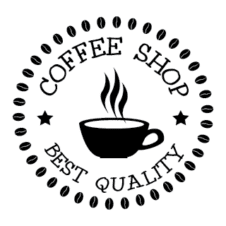 Coffee Shop Logo Design images