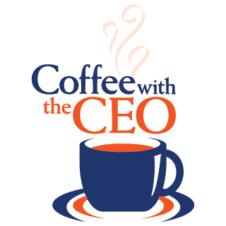 Coffee with the CEO Vector Logo images