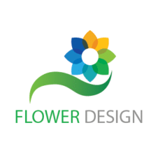 Flower Design Logo Vector images