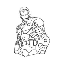 Iron Man Vector Logo images