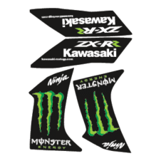 Kawasaki Ninja Monster Vector Logo images