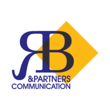 R b & partners communication Vector Logo images