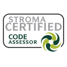 STROMA certified Code Assessor Vector Logo images