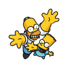 The Simpsons Vector Logo images