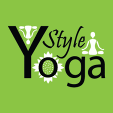 Yoga Green Logo Design images