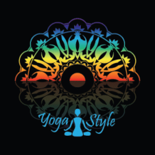Yoga Poses Logo Vector images