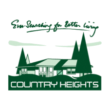 Country heights Vector Logo images