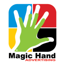 Magic hand Vector Logo images