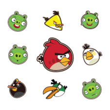 Angry Birds Vector Logo images